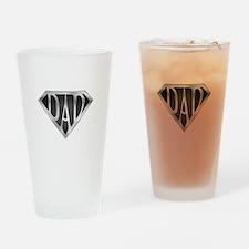 SuperDad - Metal Drinking Glass