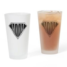 Supermom(metal) Drinking Glass