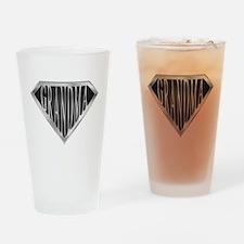SuperGrandma(metal) Drinking Glass
