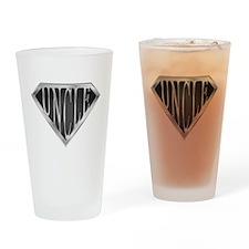 SuperUncle(metal) Drinking Glass