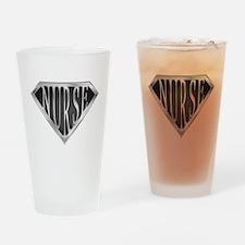 SuperNurse(metal) Drinking Glass