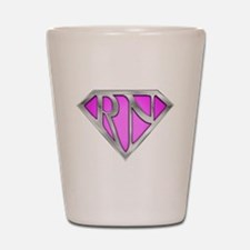 Super RN - Pink Shot Glass
