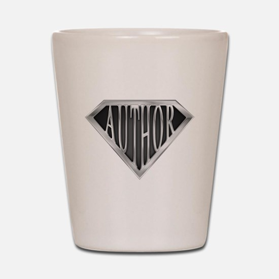SuperAuthor(metal) Shot Glass