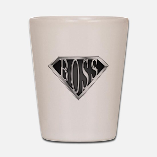 SuperBoss(metal) Shot Glass