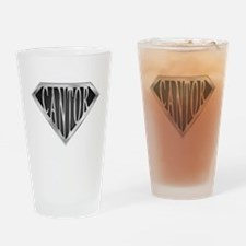 SuperCantor(metal) Drinking Glass