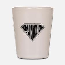 SuperCantor(metal) Shot Glass