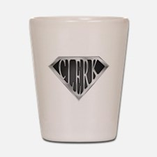 SuperClerk(METAL) Shot Glass