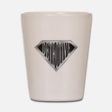 SuperDetective(metal) Shot Glass