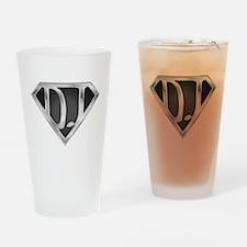 Super DJ(metal) Drinking Glass