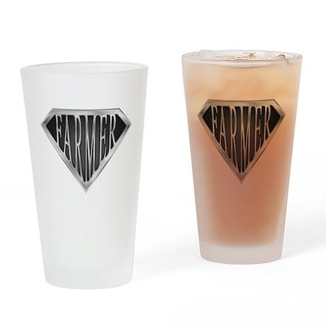 SuperFarmer(metal) Drinking Glass