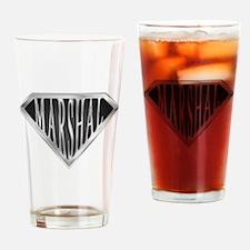 SuperMarshal(metal) Drinking Glass