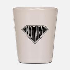 SuperNotary(metal) Shot Glass
