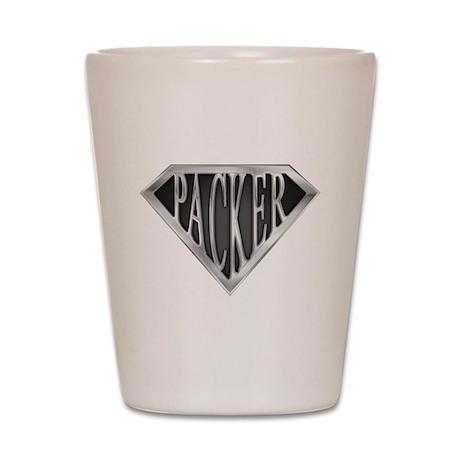 SuperPacker(metal) Shot Glass