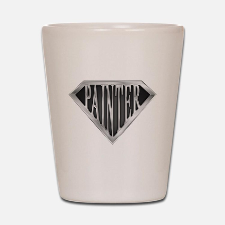 SuperPainter(metal) Shot Glass