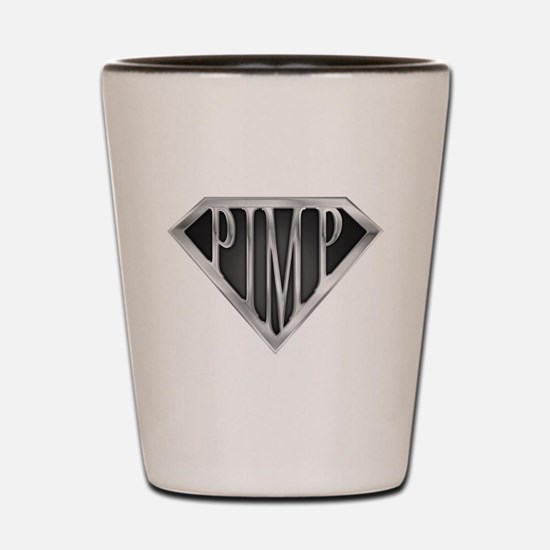 SuperPimp(metal) Shot Glass
