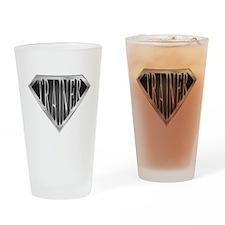SuperTrainer(metal) Drinking Glass
