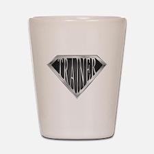 SuperTrainer(metal) Shot Glass