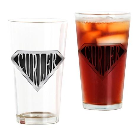 SuperCurler(metal) Drinking Glass
