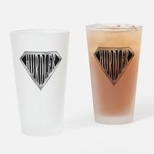 SuperHurdler(metal) Drinking Glass