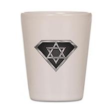 SuperIsraeli(metal) Shot Glass