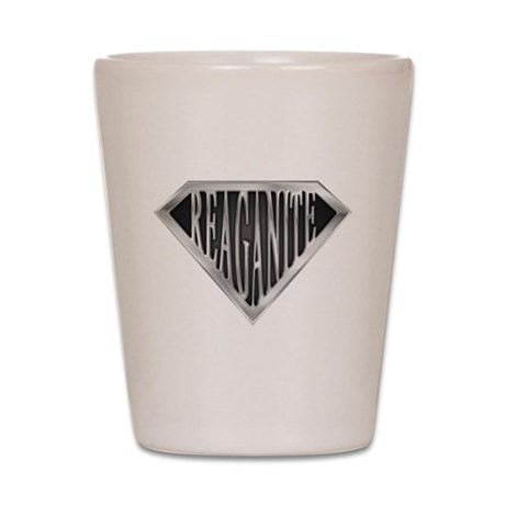 Super Reaganite(metal) Shot Glass