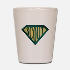 SuperScout(Tan) Shot Glass