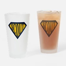 SuperScout(Gold/Blue) Drinking Glass