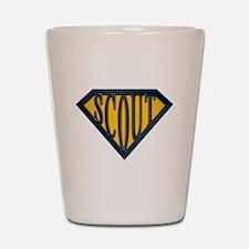SuperScout(Gold/Blue) Shot Glass