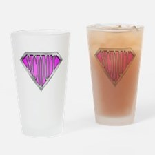 SuperScout(Pink) Drinking Glass