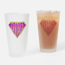 SuperDiva(Bling) Drinking Glass