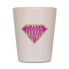 SuperDiva(Bling) Shot Glass