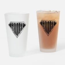 SuperGriller(metal) Drinking Glass