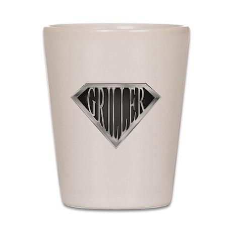 SuperGriller(metal) Shot Glass