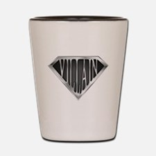 SuperVillain(metal) Shot Glass