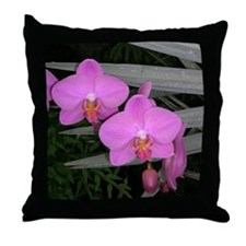 Orchid Perfection Throw Pillow