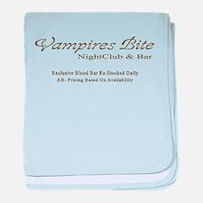 Vampires Bite baby blanket