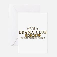 Drama Club Greeting Card