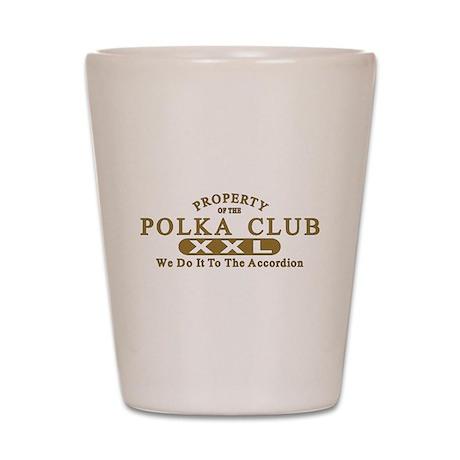 Polka Club Shot Glass