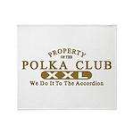 Polka Club Throw Blanket