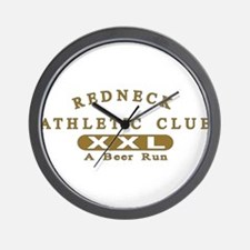 Redneck Athletic Club Wall Clock