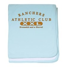 Ranchers Athletic Club baby blanket