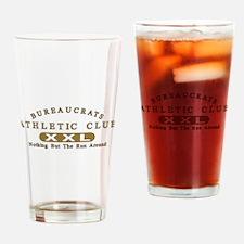 Bureaucrats Club Drinking Glass