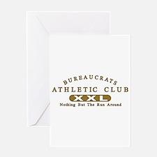 Bureaucrats Club Greeting Card