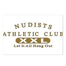 Nudist Athletic Club Postcards (Package of 8)
