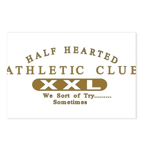Half Hearted Club Postcards (Package of 8)