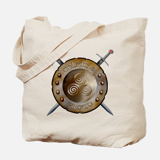 Shield and swords Tote Bag