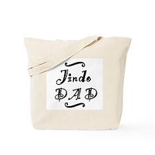 Jindo DAD Tote Bag