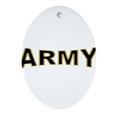 US Army Ornament (Oval)