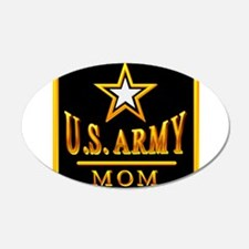 Army Mom 22x14 Oval Wall Peel