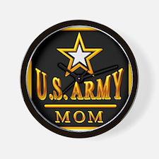 Army Mom Wall Clock
